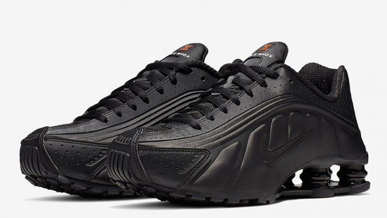 best website bf367 ba501 Nike Shox R4 Black Orange Womens AR3565-004 03