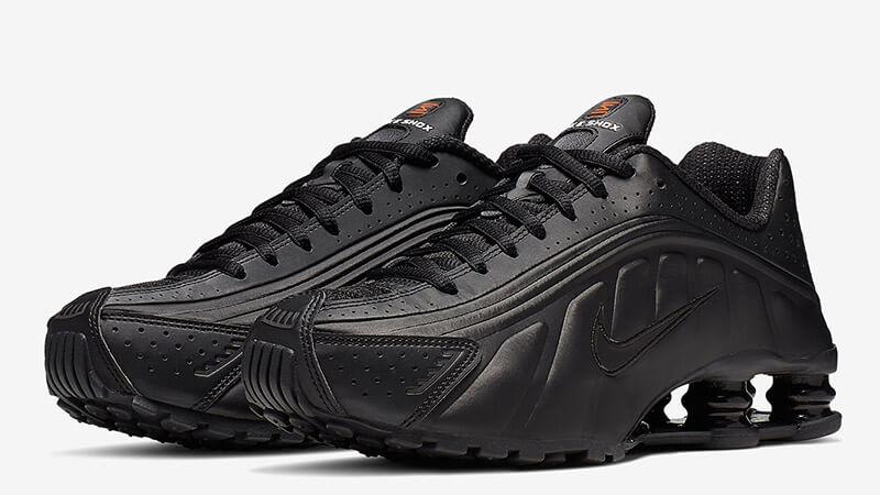 buy online e45c7 5554f Nike Shox R4 Black Red Womens | AR3565-004