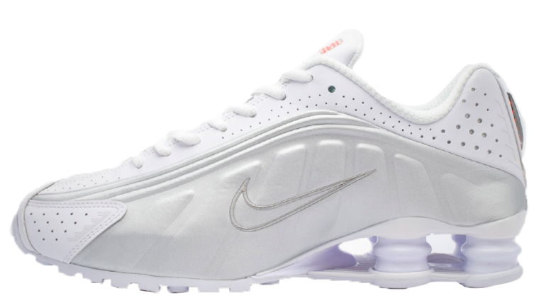 Nike Womens Shox R4 White