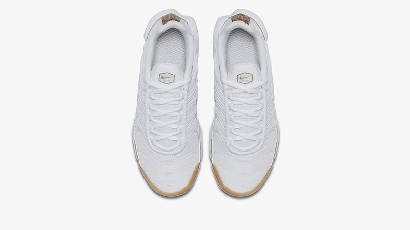 Nike TN Air Max Plus EP White Metallic Gold | BV0026 100