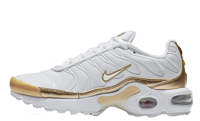 Nike TN Air Max Plus EP White Metallic Gold | BV0026 100