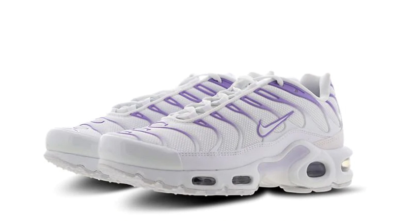 official photos 66d1a b5749 Nike TN Air Max Plus White Purple | CJ9455-100