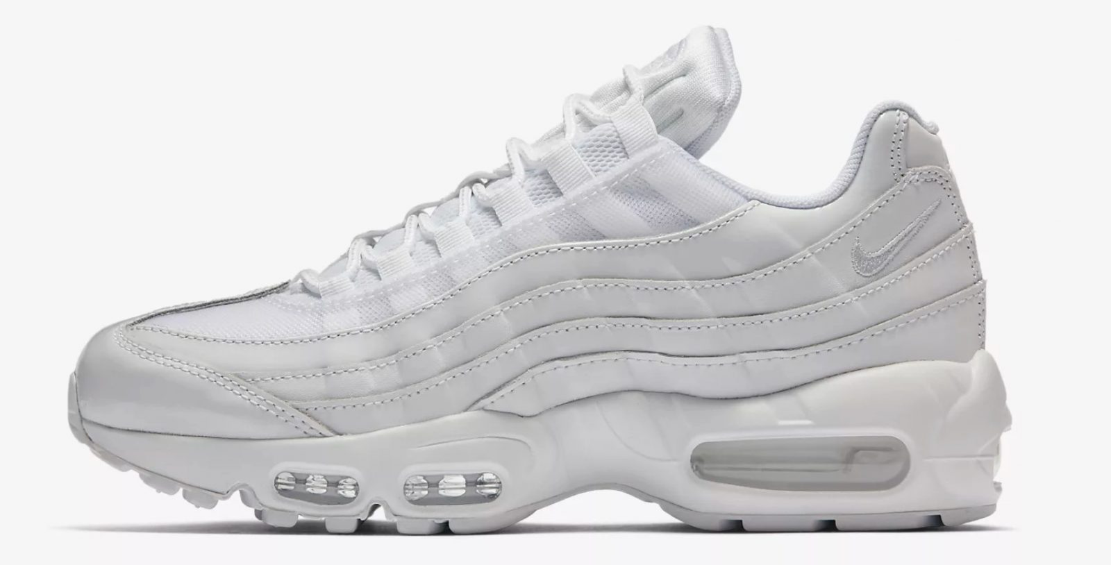 Nike's Air Max 95 Gets Coated In White