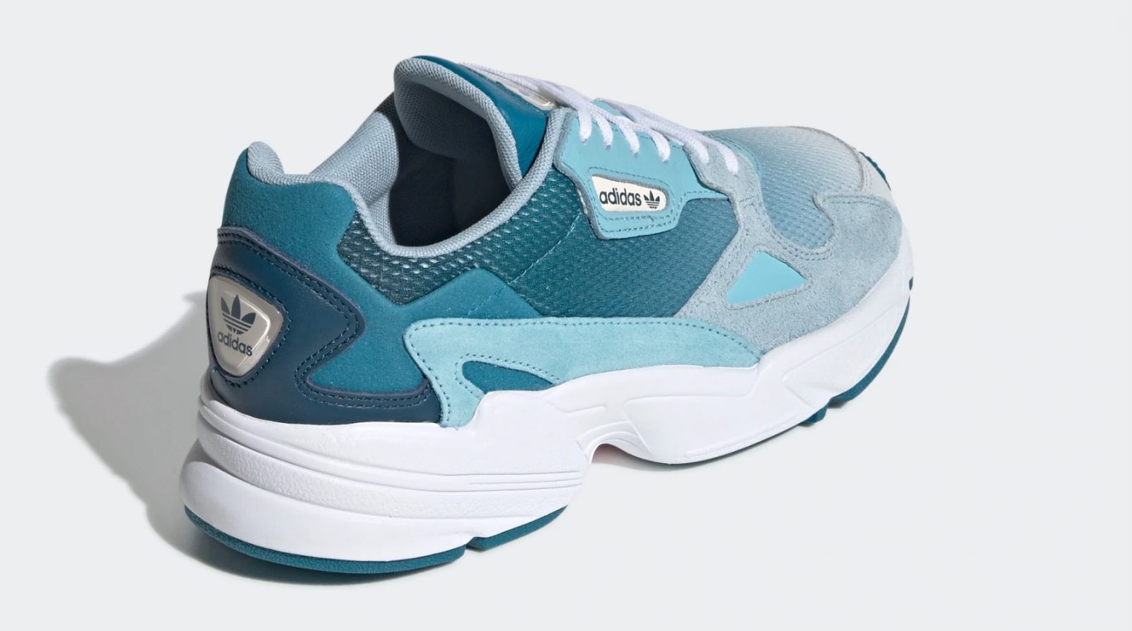 info for 7f081 93578 adidas Falcon Blue Tint | EF1963