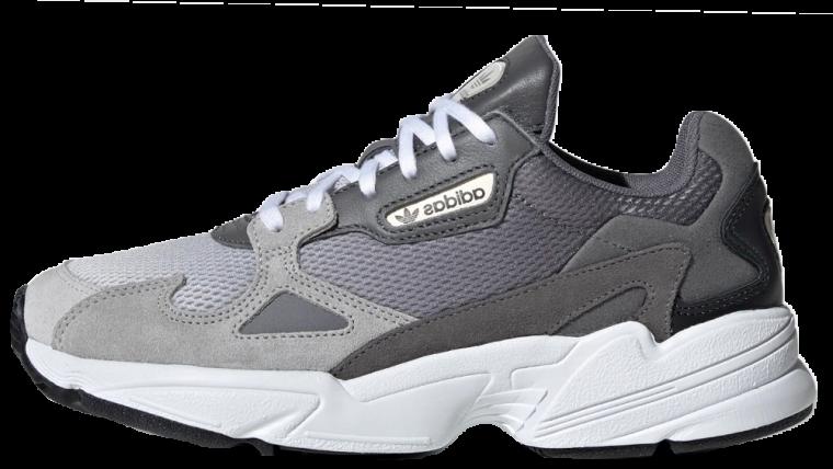new style 4ea24 676c2 adidas Falcon Grey   EE5106