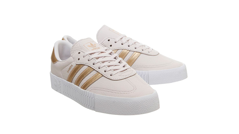 adidas Sambarose Trainers Orchid Tint front