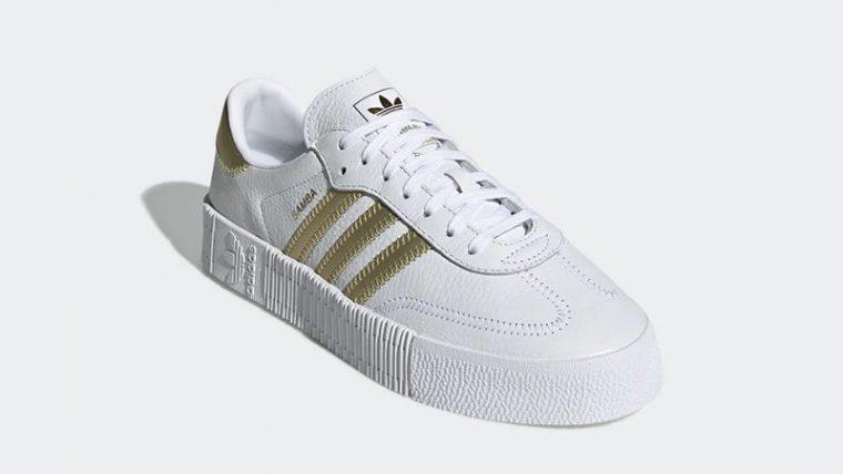 adidas Sambarose White Gold EE4681 03 thumbnail image