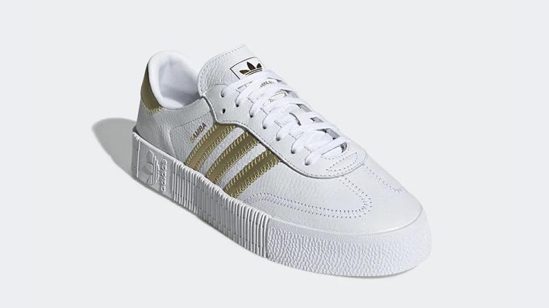 adidas Sambarose White Gold EE4681 03