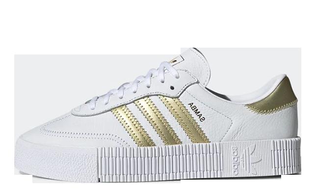 adidas Sambarose White Gold EE4681