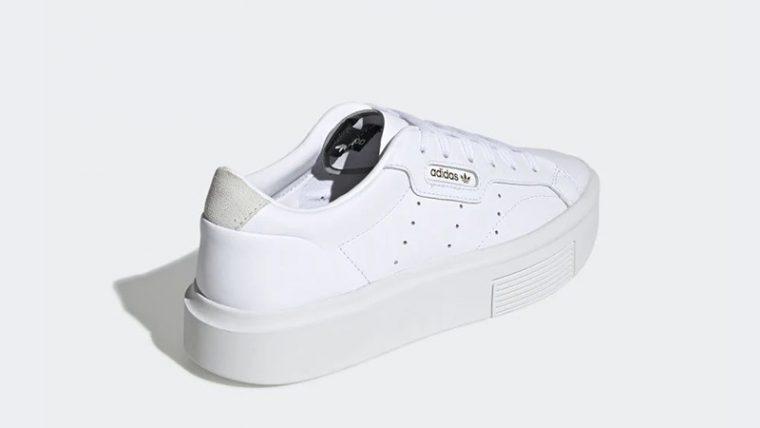 adidas Sleek Super White EF8858 back thumbnail image