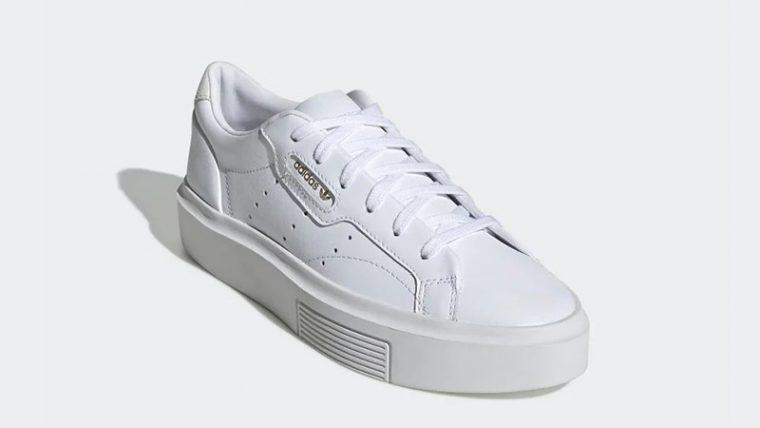 adidas Sleek Super White EF8858 front thumbnail image