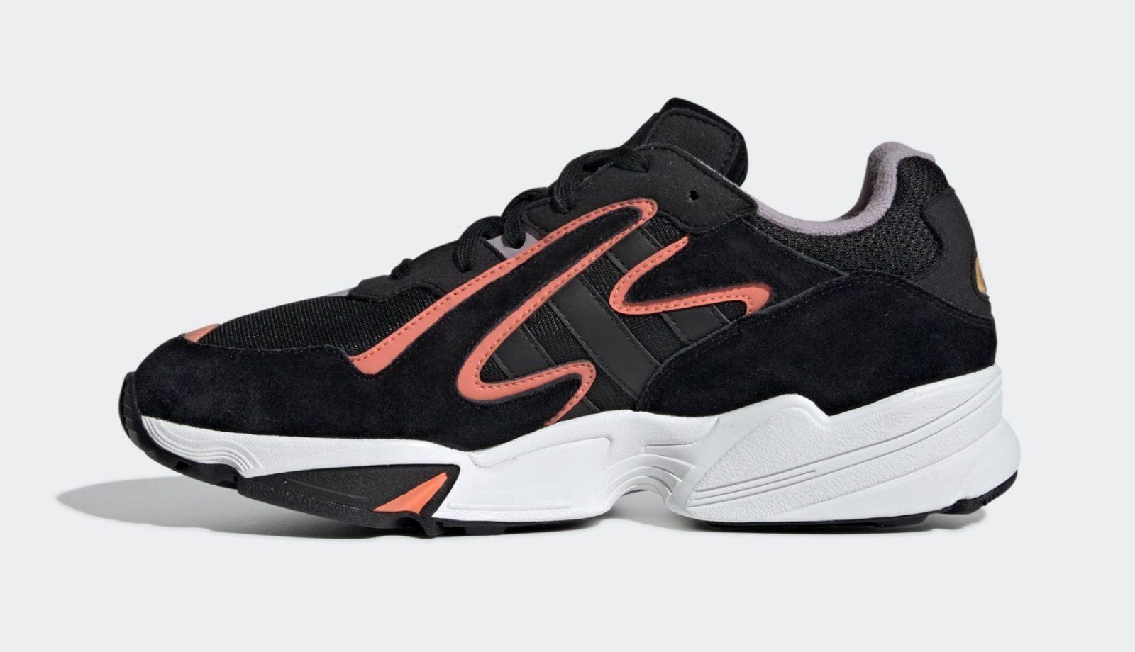 adidas Yung 96 Chasm Black Coral | EE7234