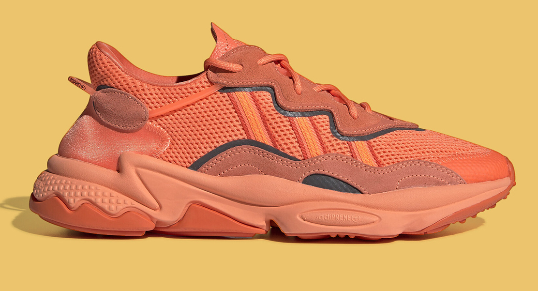 Adidas Ozweego Adiprene Pear Ash Coral Pink EE7017