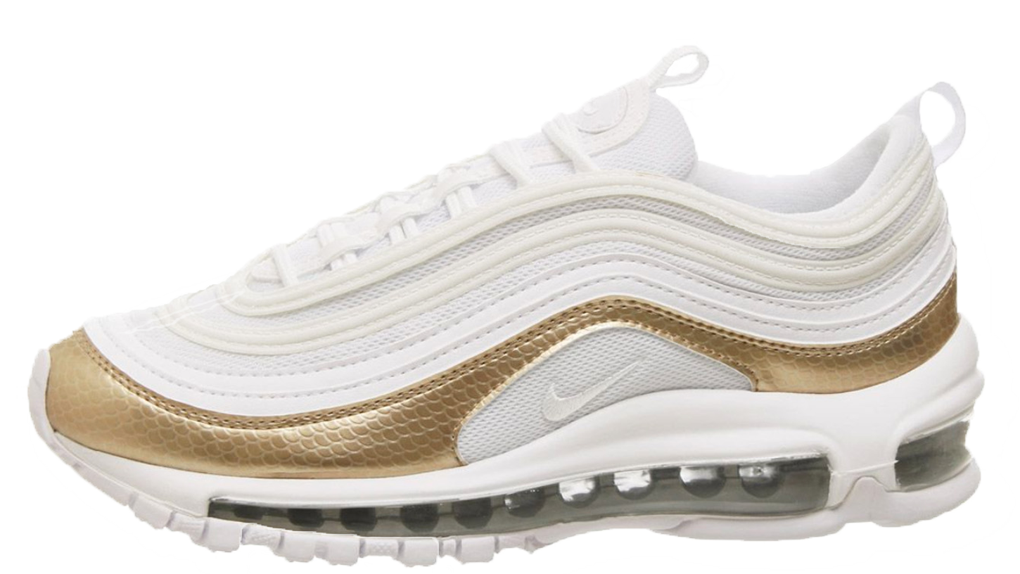 30b888be1d The Nike Air Max 97 GS White Blush Gold is available right now via the  retailers listed on this page, head to the links to shop! UK true DD/MM/YYYY