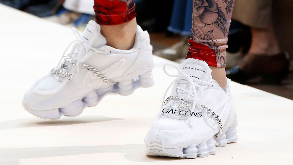 low priced 8916c dd0d0 Don t Miss The Comme Des Garçons x Nike Shox TL