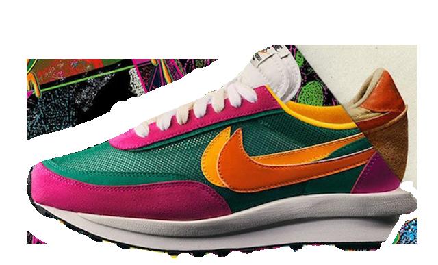 software virar ensillar  sacai x Nike LDV Waffle Green Pink | Where To Buy | BV0073-301 | The Sole  Womens