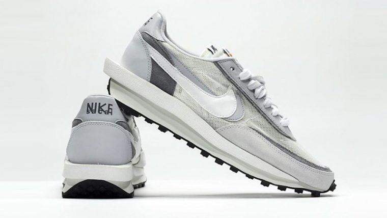 sacai x Nike LDV Waffle White Grey thumbnail image