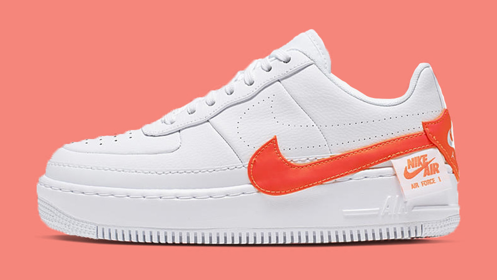 The Nike Air Force 1 Jester XX Gets Splashed In Orange