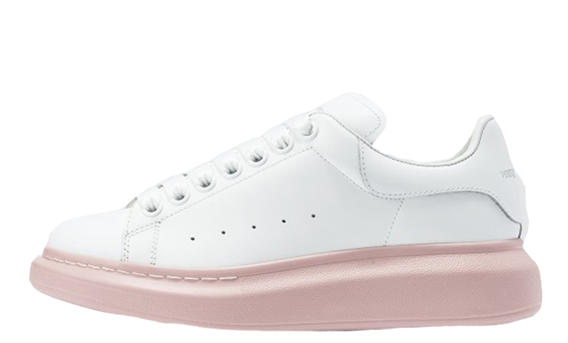 Alexander McQueen Raised Sole Low Top White