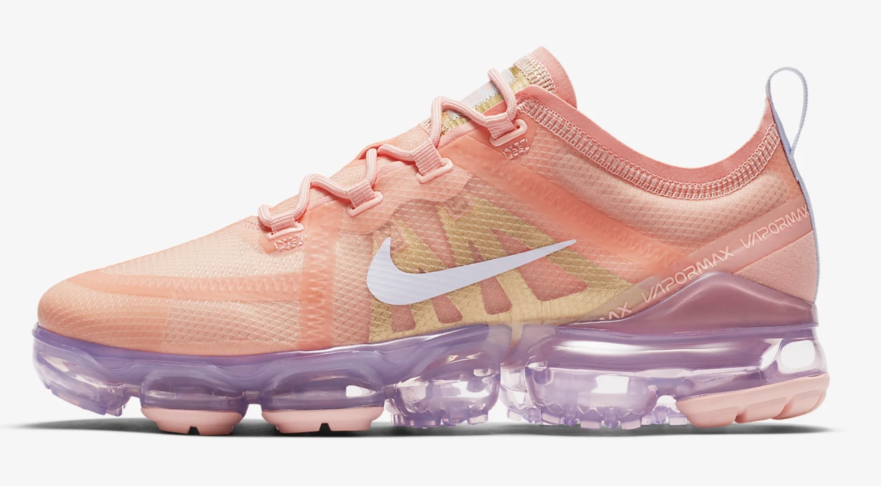 86a9a0e1e31bd Bleached Coral And Metallic Gold Take On The Nike Air VaporMax 2019 ...