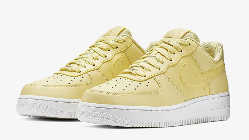 Nike Air Force 1 07 Bicycle Yellow | AO2132 701