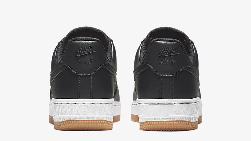 Nike Air Force 1 07 Low Premium Black Gum | 896185 008