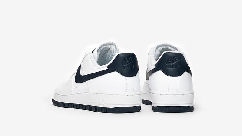 Nike Air Force 1 07 White Navy AH0287-108 back