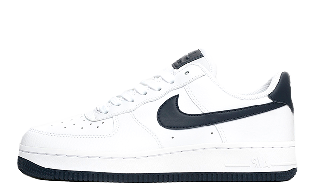 Nike Air Force 1 07 White Navy AH0287-108