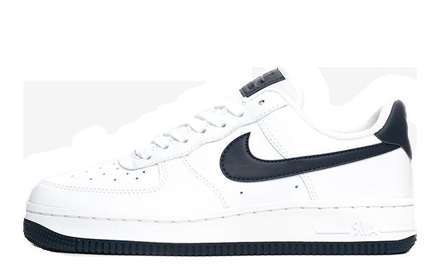 Nike Air Force 1 07 White Navy