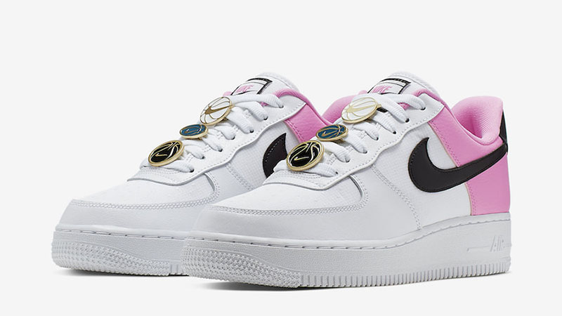 Nike Air Force 1 China Rose front