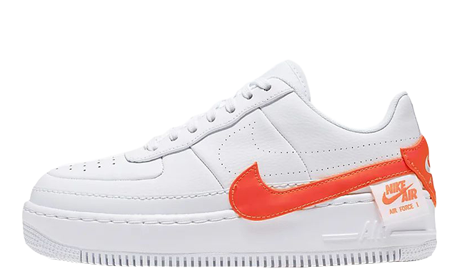 nike air force 1 jester neon orange