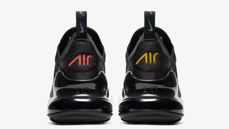 Nike Air Max 270 Black Multi AH6789-023 back thumbnail image