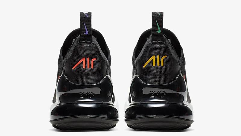 Nike Air Max 270 Black Multi AH6789-023 back