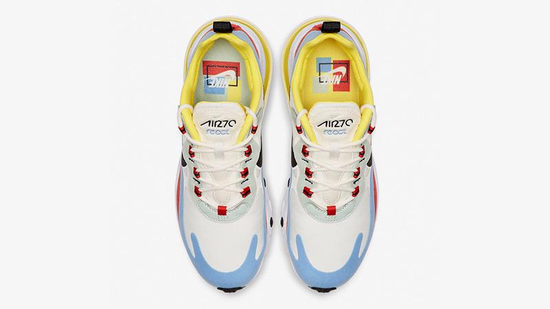 Nike Air Max 270 React Bauhaus Multi AT6174 002  AT6174 002