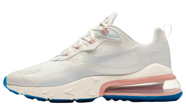 Nike Air Max 270 React White Pink thumbnail image