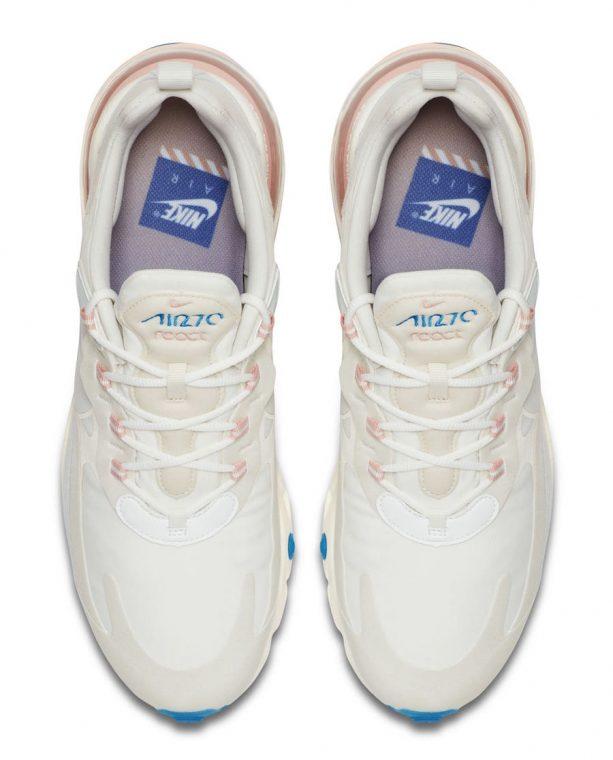 Nike Air Max 270 React White Pink thumbnail image