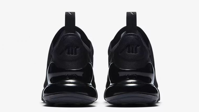 Nike Air Max 270 Triple Black AH6789-006 back thumbnail image