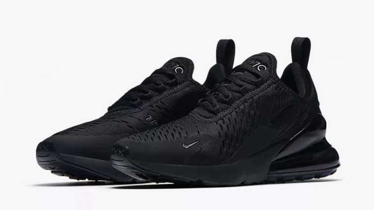 Nike Air Max 270 Triple Black AH6789-006 front thumbnail image