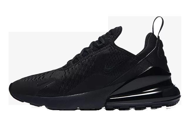 best sneakers df99f 4864a Nike Air Max 270 Triple Black   AH6789-006