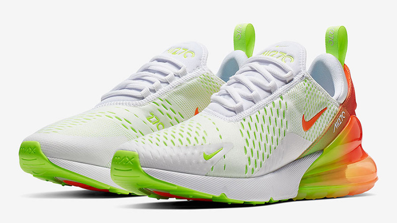 Nike Air Max 270 Volt White CN7077-181 front