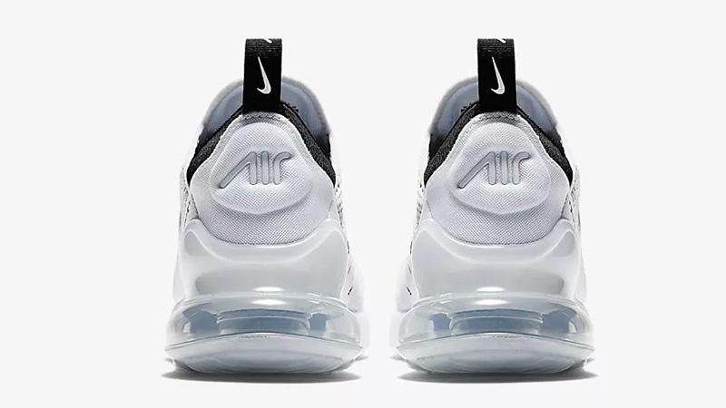Nike Air Max 270 White Black AH6789-100 back
