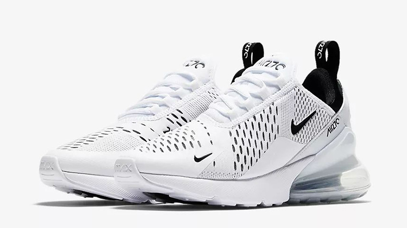 hot sale online 5668f 362ee Nike Air Max 270 White Black | AH6789-100