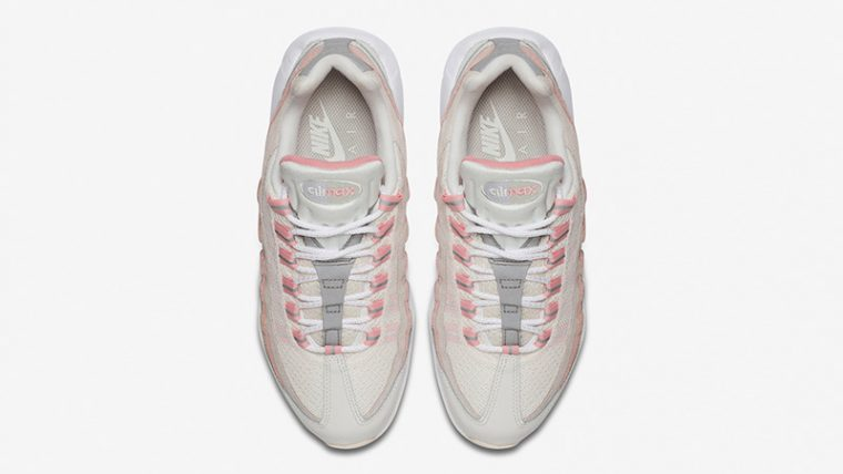 Nike Air Max 95 Bleached Coral 307960-116 middle thumbnail image