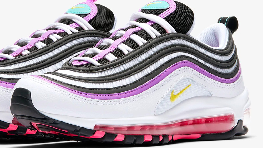 The Nike Air Max 97 Gets Decorated With Bright Violet Waves   The ...