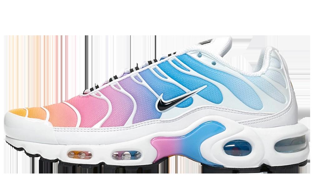 Nike Air Max Plus Blue Pink | 605112 115