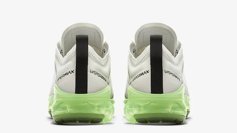 Nike Air VaporMax 2019 White Volt AR6632-104 back
