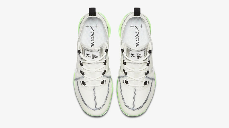 Nike Air VaporMax 2019 White Volt AR6632-104 middle