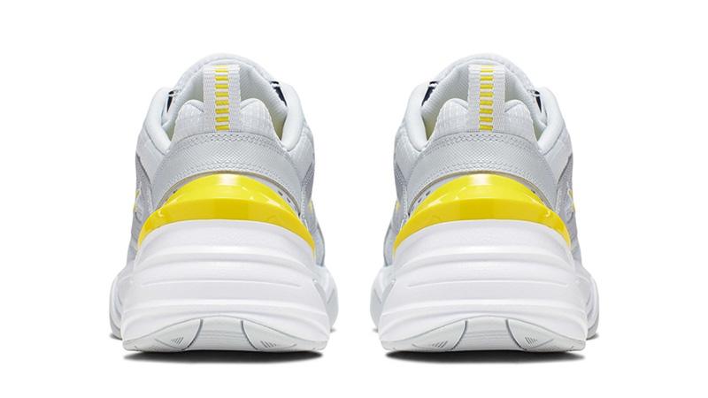 Nike M2K Tekno Dynamic Yellow back