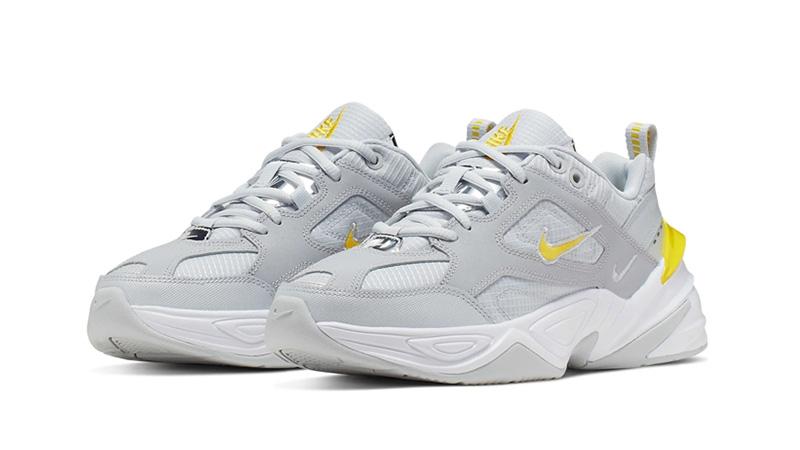 Nike M2K Tekno Dynamic Yellow front