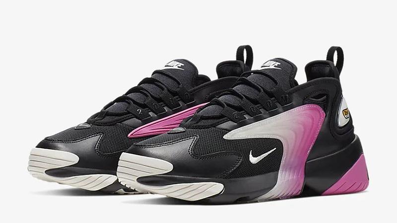 Nike Zoom 2K Black China Rose AO0354-003 front